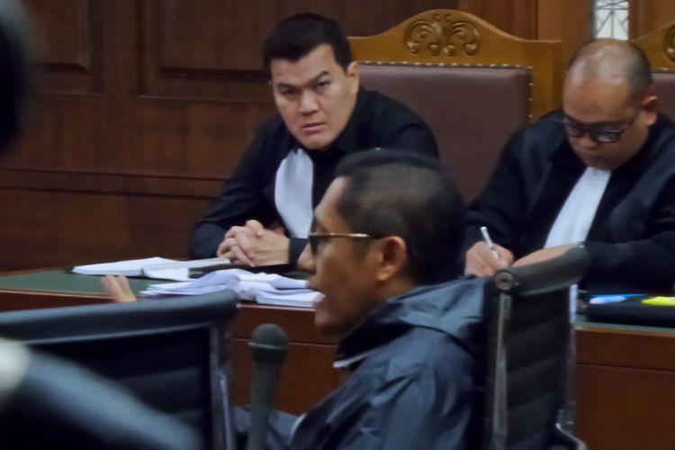 Anas Urbaningrum jadi saksi di sidang kasus korupsi pengadaan e-KTP di Pengadilan Tipikor Jakarta, Kamis (23/11/2017).