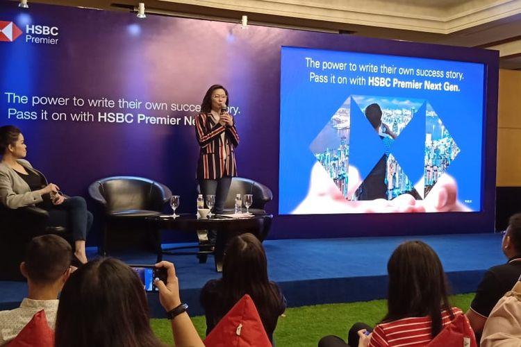 Penelitian International Education HSBC Group (HSBC) dengan responden global dipaparkan dalam konferensi pers di Jakarta (18/9/2019) bertajuk The Power to Write Their Success Story: Pass It On with HSBC Premier Next Gen.