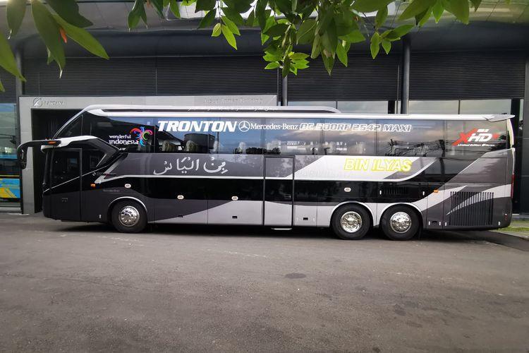 Bus pariwisata baru PO Bin Ilyas