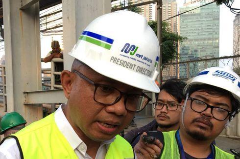 Percantik Jalur Pedestrian, MRT Jakarta Impor Batu Alam dari China