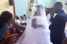 Mengaku Istri Sah, Wanita Ini Datangi Pesta Pernikahan dan Marah-marah