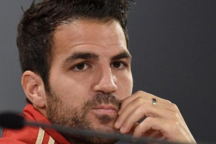Mantang gelandang timnas Spanyol, Cesc Fabregas.