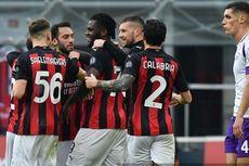 AC Milan Vs Fiorentina, Rossoneri Menang dan Kokoh di Puncak Klasemen Liga Italia