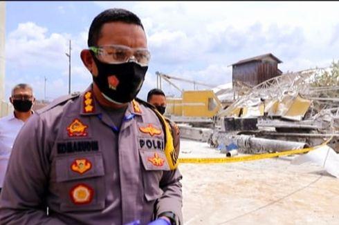 Tabung Nitrogen Cair Pabrik Gas Meledak, 40 Rumah di Pontianak Rusak