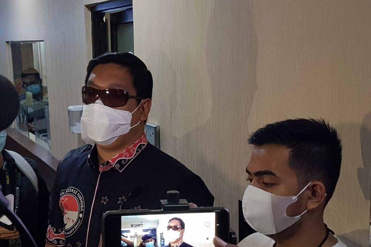 Kasat Narkoba Polres Jakarta Barat AKBP Ronaldo Maradona Siregar saat ditemui di Polres Jakarta Barat, Jumat (16/4/2021).