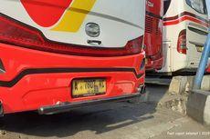 Ketahui Per Penyeberangan di Bagian Bawah Belakang Bus AKAP