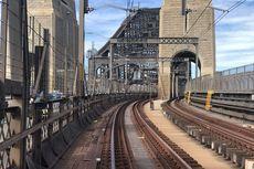 Ada Pemeliharaan, Kereta Api Tak Melintas di Sydney Harbour Bridge 10 Hari