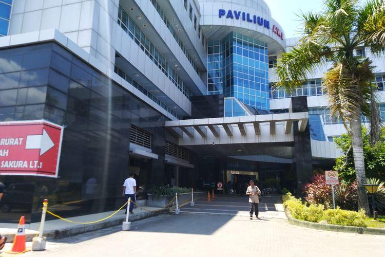 RSUD Abdul Wahab Syahranie Samarinda Kalimantan Timur jadi salah satu rumah sakit rujukan pasien virus corona, Minggu (2/2/2020).