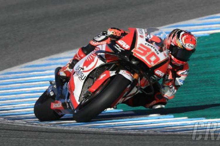 Pebalap LCR Honda asal Jepang, Takaaki Nakagami jadi yang tercepat di uji coba Jerez