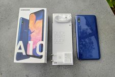 Melihat Samsung Galaxy A10 Lebih Dekat