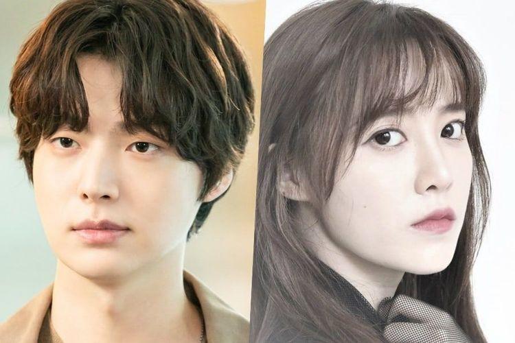 Pasangan Ahn Jae Hyun dan Goo Hye Sun.