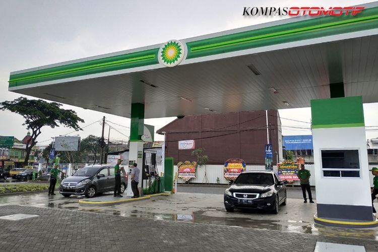 SPBU British Petroleum (BP) Serpong, resmi dibuka.