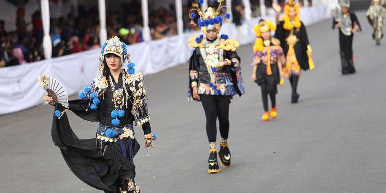Jember Fashion Carnival (JFC) sekarang sudah diakui sebagai agenda yang ada di peringkat ketiga karnaval terbesar di dunia.