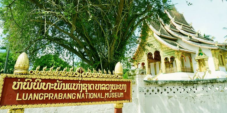 Museum Nasional di Luang Prabang, Laos.