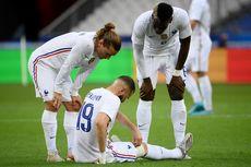 Jadi Korban Kemenangan Perancis, Benzema Cedera Jelang Euro 2020