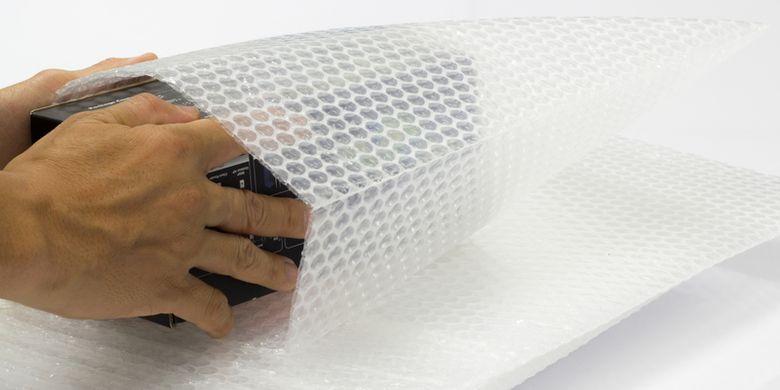 Ilustrasi bubble wrap