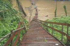 Jembatan Gantung di Balangan Kalsel Ambruk, 3 Warga Tercebur