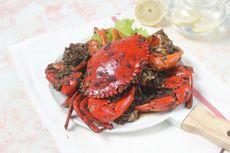 Resep Kepiting Lada Hitam, Makan Siang Mewah ala Restoran
