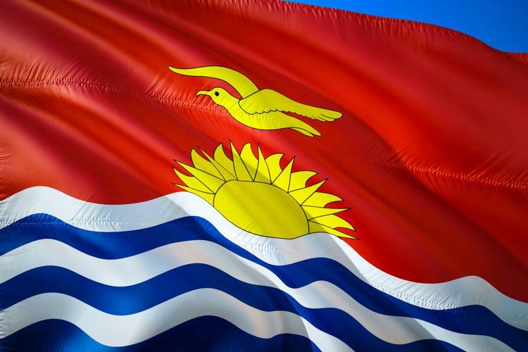 Bendera Kiribati.