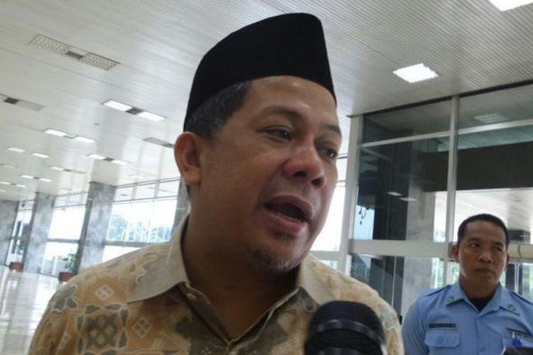 Wakil Ketua DPR RI Fahri Hamzah di Kompleks Parlemen, Senayan, Jakarta, Kamis (6/10/2016)