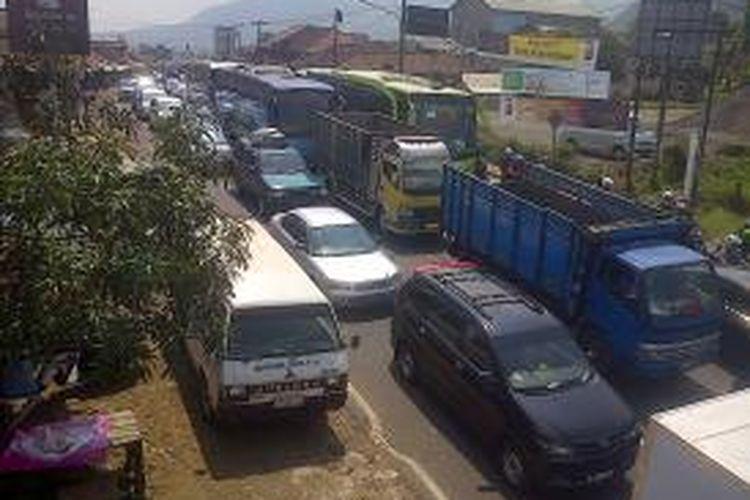 Ilustrasi: Kemacetan saat mudik