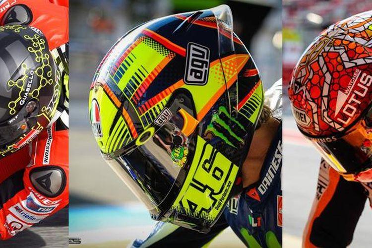 Helm-helm yang ingin berpartisipasi dalam MotoGP harus memenuhi kualifikasi minimum.