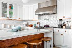 4 Cara Bikin Dapur Mungil Tampak Lega