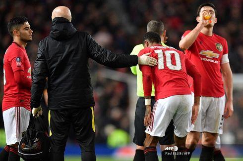 Rashford Cedera Jelang Laga Kontra Liverpool, Perjudian Gagal Solskjaer