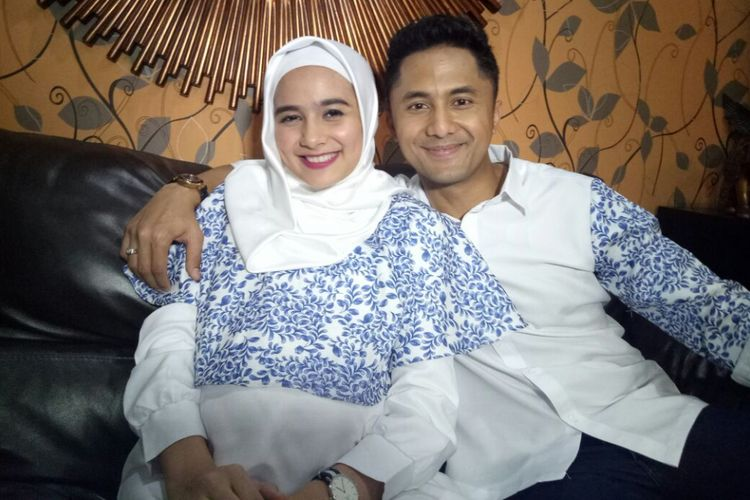Hengky Kurniawan dan Sonya Fatmala saat ditemui di kediamannya di kawasan Pejaten, Jakarta Selatan, Jumat (29/9/2017).