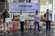 PT Bintaro Serpong Damai dan Sari Roti Bagi-bagi Ribuan Roti