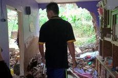 Diguyur Hujan, Tebing Longsor Rusak Rumah di Cicurug Sukabumi