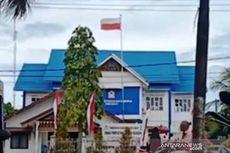 Gara-gara Ngantuk, Petugas Pasang Bendera Merah Putih Terbalik di Kantor Arsip Aceh Barat