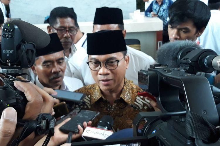 Ketua Komisi VIII DPR RI Yandri Susanto di kantor Kementerian Agama, Jakarta Pusat, Senin (2/3/2020).