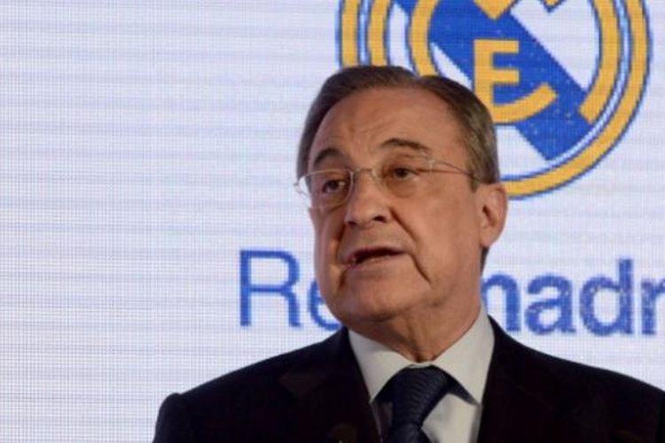 Presiden Real Madrid, Florentino Perez.
