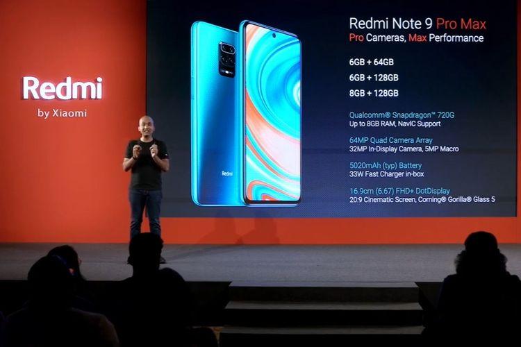 Xiaomi Redmi Note 9 Pro Dan Redmi Note 9 Pro Max Resmi Meluncur Halaman All Kompas Com