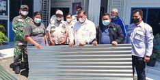 Bersama Pemkab Deli Serdang, Dompet Dhuafa Waspada Bantu Korban Bencana Angin Puting Beliung