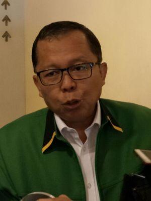 Sekretaris Jenderal Partai Persatuan Pembangunan (PPP), Arsul Sani ketika ditemui di Hotel Sari Pan Pacific, Jakarta, Senin (26/2/2018).