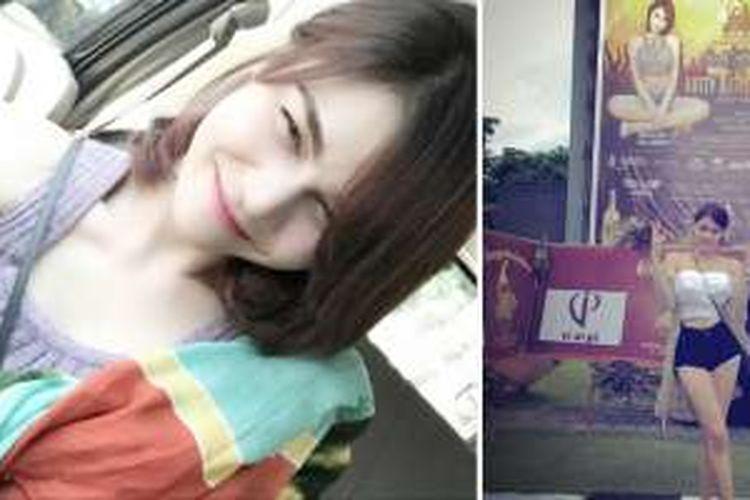 Foto-foto yang diunggah DJ Katty Butterfly di akun Instagram-nya saat ia berada di Bali.