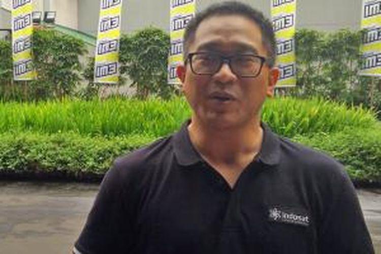 Direktur Utama Indosat, Alexander Rusli.