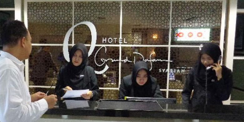 Hotel Q Grand Dafam Syariah Banjarbaru yang merupakan hotel syariah pertama di Kalimantan Selatan.