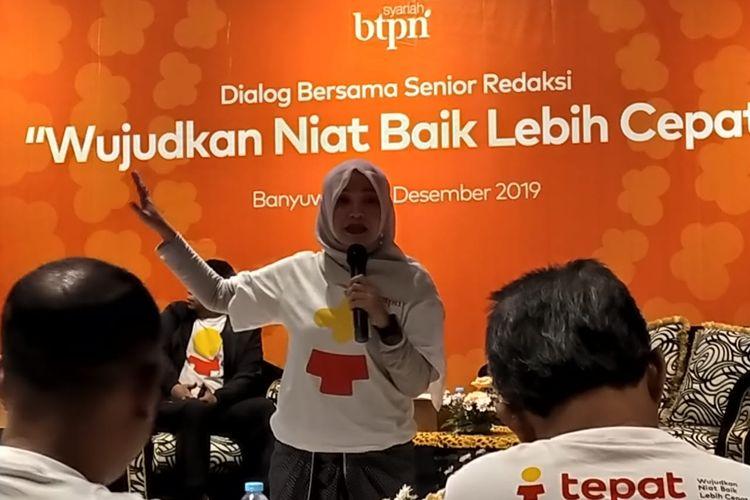 Direktur Utama BTPN Syariah Ratih Rachmawaty