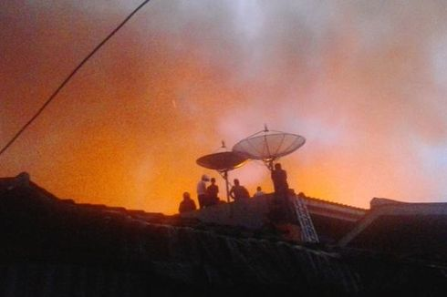 Kebakaran Rumah di Pasar Minggu Diduga karena Pembakaran Sampah