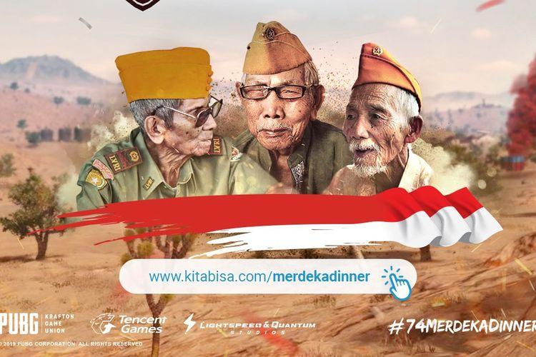 PUBG Mobile ikut rayakan kemerdekaan Indonesia yang ke-74.