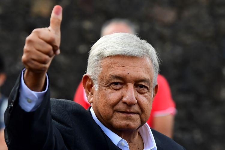 Presiden Meksiko terpilih Andres Manuel Lopez Obrador akan resmi dilantik pada 1 Desember 2018 mendatang.