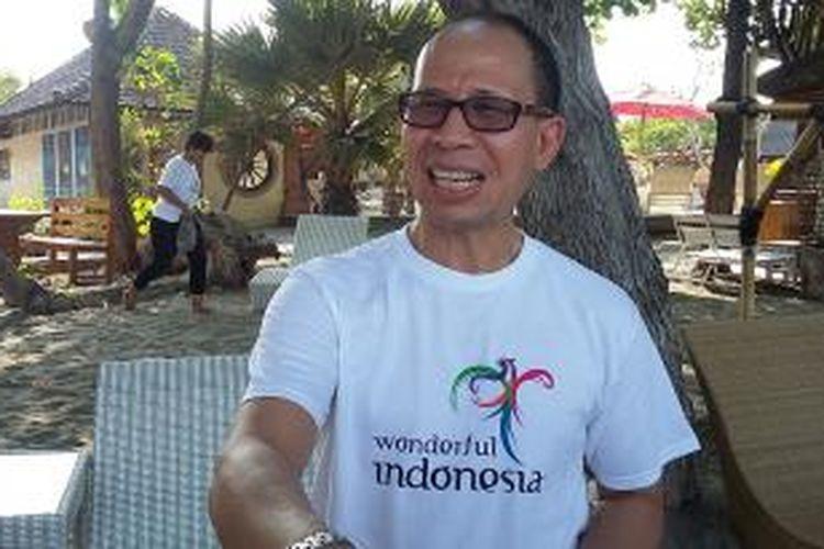 Deputi Bidang Pengembangan Pemasaran Pariwisata Mancanegara Kementerian Pariwisata, I Gde Pitana di Teluk Pemuteran, Kabupaten Buleleng, Bali, Jumat (27/11/2015).