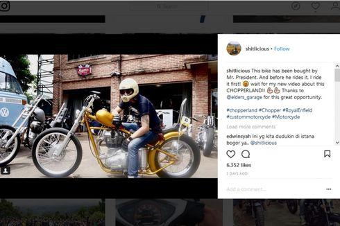 Jokowi Beli Satu Unit Motor Chopper