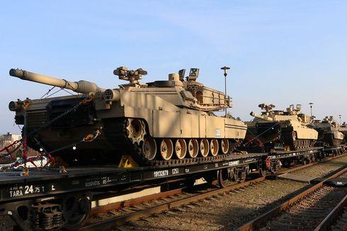 AS Kerahkan Satu Batalion Pasukan dan Puluhan Tank ke Lithuania