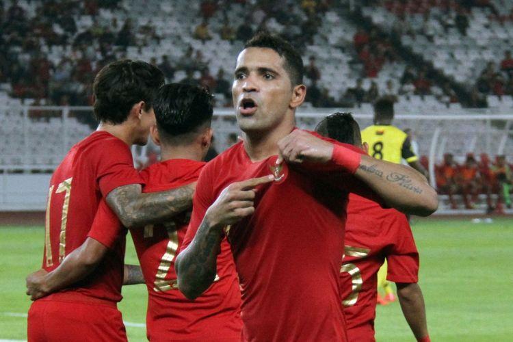 Striker tim nasional Indonesia, Alberto Beto Goncalves.