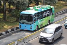 Baru 1 Jalur Transjakarta yang Dipasang Kamera Tilang Elektronik