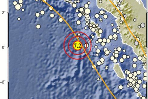 Gempa Bermagnitudo 7,2 di Nias Tak Berpotensi Tsunami